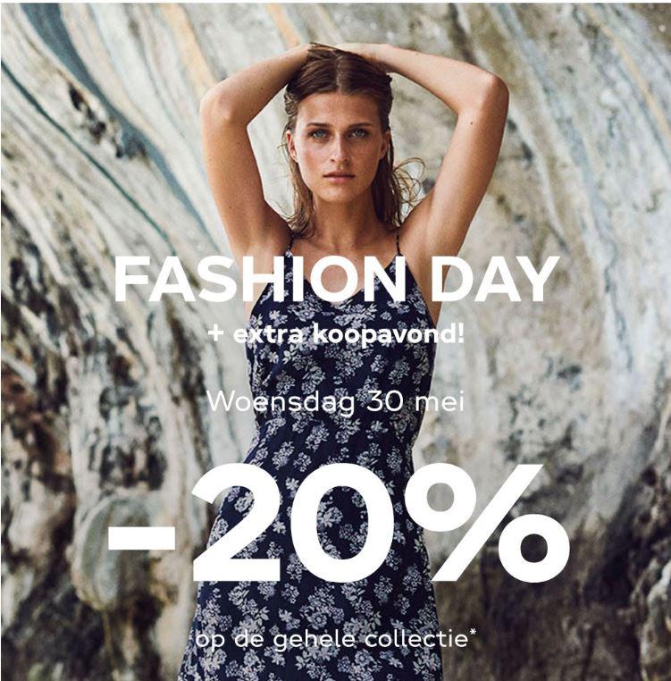 VERO MODA FASHION DAY + extra koopavond // 20% KORTING alleen in winkels