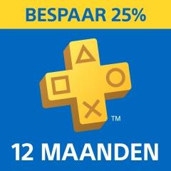 PlayStation Plus: eenjarig abonnement voor €44,99 @ PSN