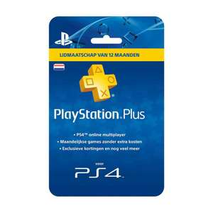 1 jaar Playstation Plus voor €49,99 @ Intertoys & Bart Smit