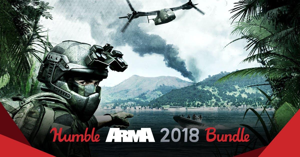 ARMA 2018 Bundle vanaf €0,86 @ Humblebundle