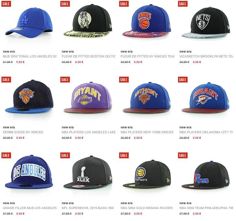 Diverse (15+) New Era caps €9,99 @ Kickz