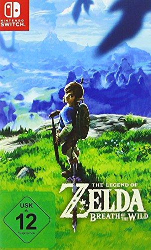 Zelda: Breath of the Wild + Mario Kart 8 + Mario Odyssey + Splatoon 2 + Mario & Rabbids (Switch) goedkoop @ Amazon.de