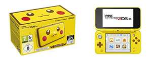 New Nintendo 2DS XL Pikachu Edition voor €114,77 @ Amazon.es