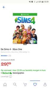 De Sims 4 voor Xbox One en Playstation  4