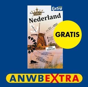 Gratis gids ANWB Extra Nederland bij aankoop van een ANWB Extra reisgids @ ANWB