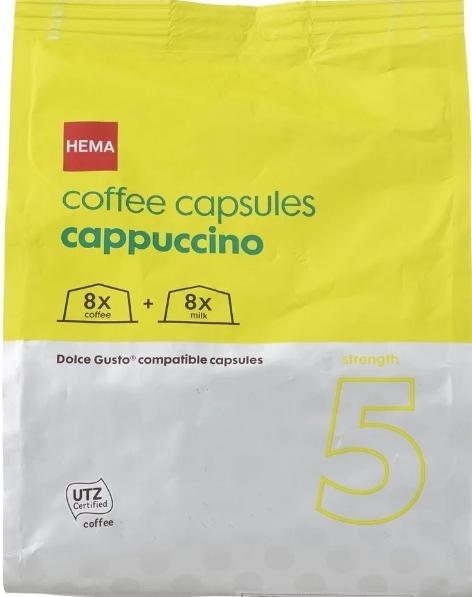 Dolce gusto koffie 2 zakken 5.50 @ HEMA