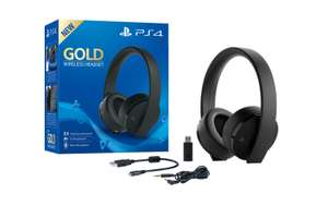 PlayStation Gold Wireless Headset voor €59,98 @ Game Mania