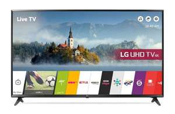LG 55UJ630V 4K Ultra HD TV - 55 inch - Zwart