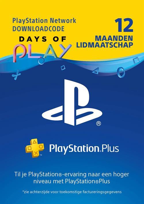 12 Maanden PSPlus Gamemania