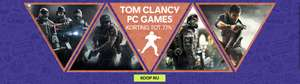 Ubisoft Tom Clancy weekend sale tot 77%