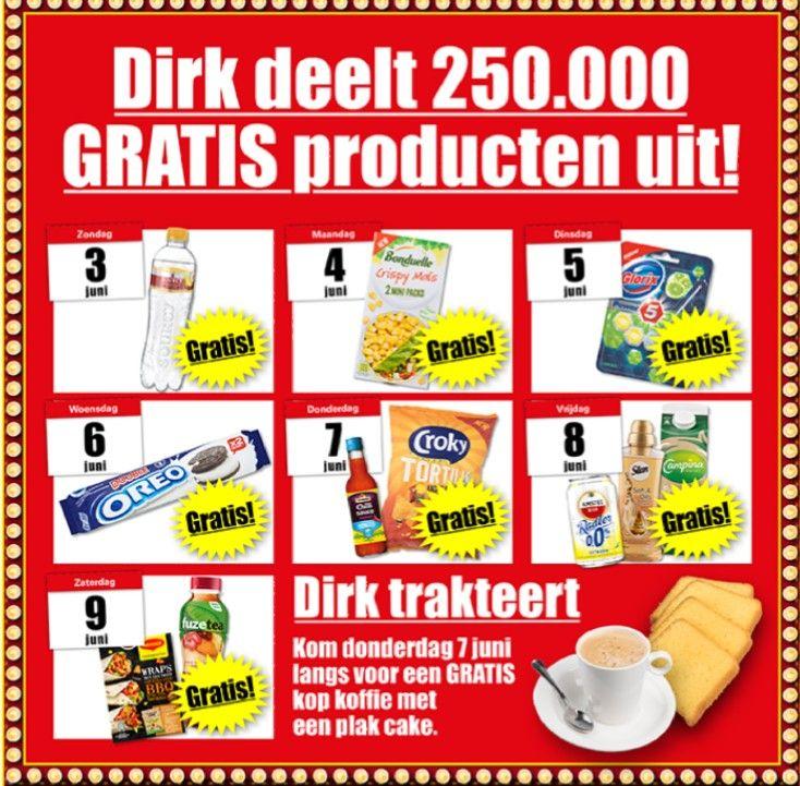 Dirk van den broek deelt uit