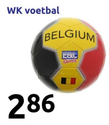Belgische Voetbal 2,86 euro @ Action, voor alle zure voetbal fans, LOL.