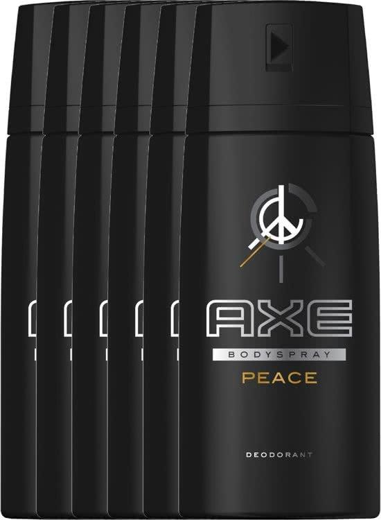 6x150ml Axe Peace €5,94 gratis verzending