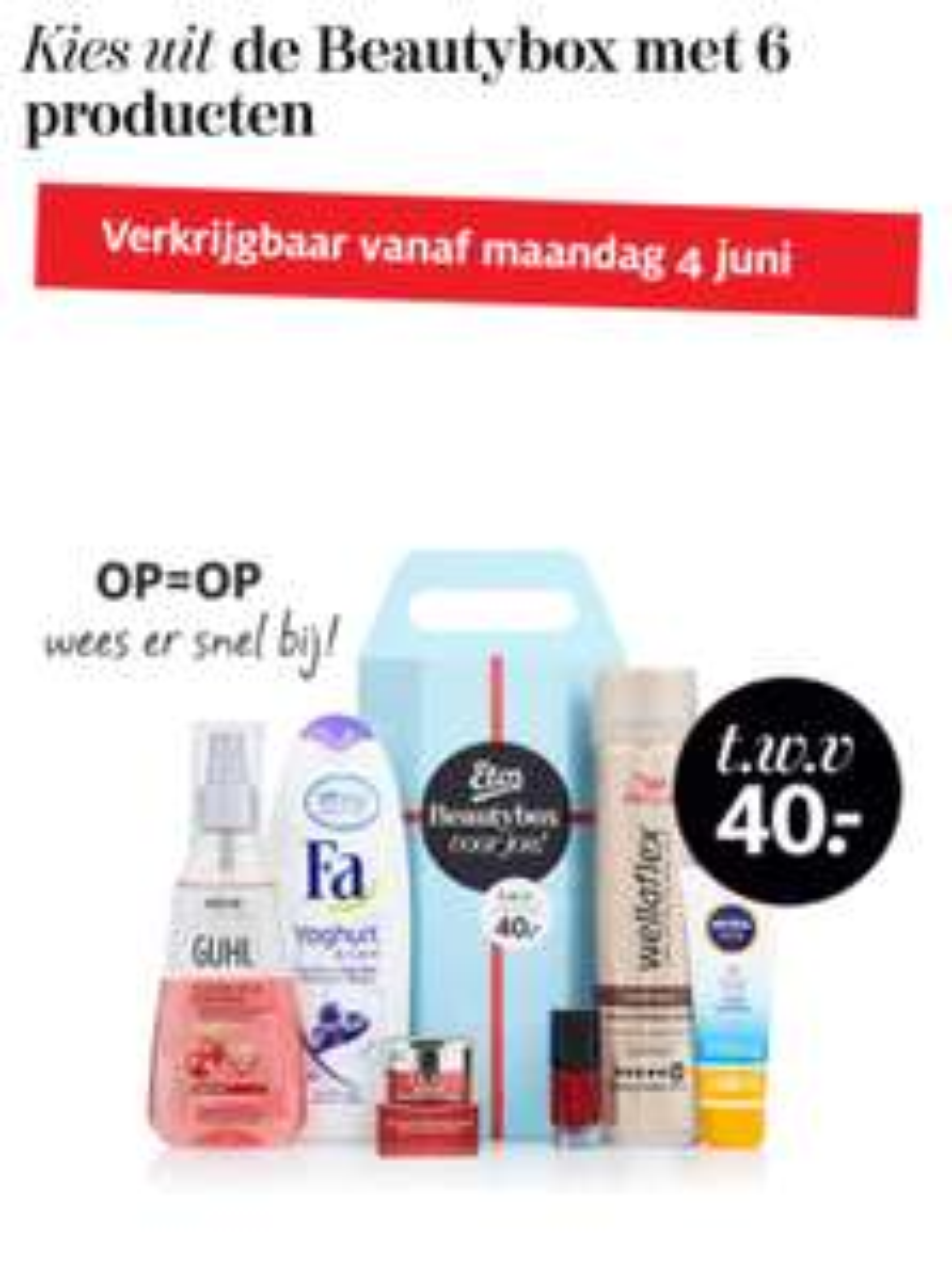 Gratis beautybox bij Etos cadeau sparen (vanaf 4 juni)