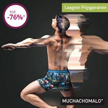 Muchachomalo tot 76% korting + €10 extra (va €40) @ Limango