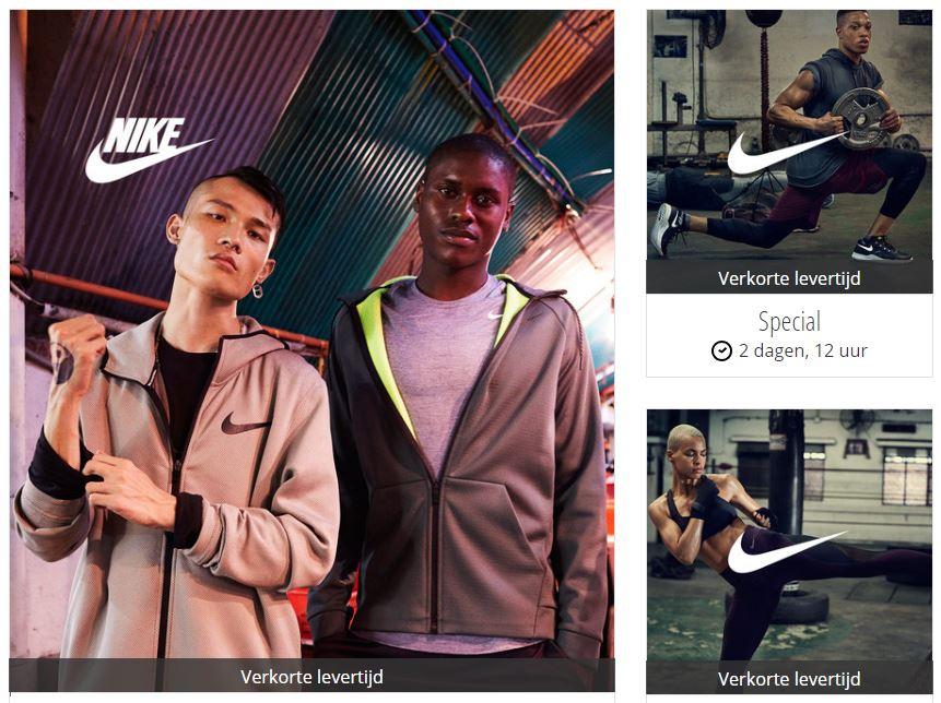 Nike sale met tot 70% korting + €10 extra @ Zalando Lounge