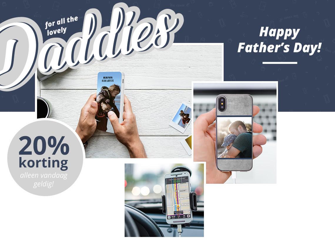 Alleen vandaag 20% korting op alles @ Smartphonehoesjes