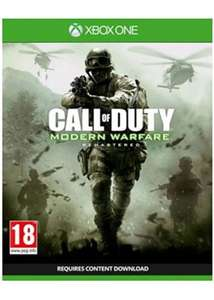 Call Of Duty Modern Warfare Remastered (Xbox One) voor €13,03 @ Base