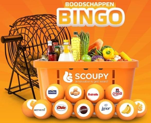 Boodschappen Bingo @ SCOUPY met GRATIS Lenor