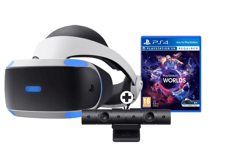 Sony PlayStation VR (v2) + Camera + VR Worlds + Extra VR game naar keuze voor €234 @ Media Markt
