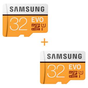 2x Samsung evo