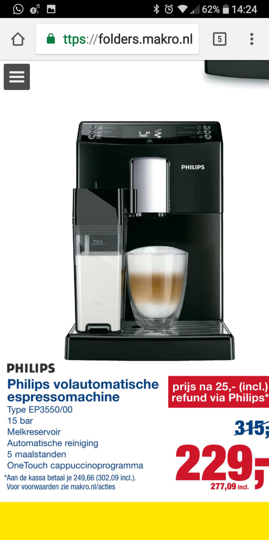 Philips EP3550 @ Makro