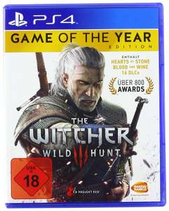 The Witcher 3: Wild Hunt - Game of the Year Edition (PS4) voor €15,61 @ Amazon.de
