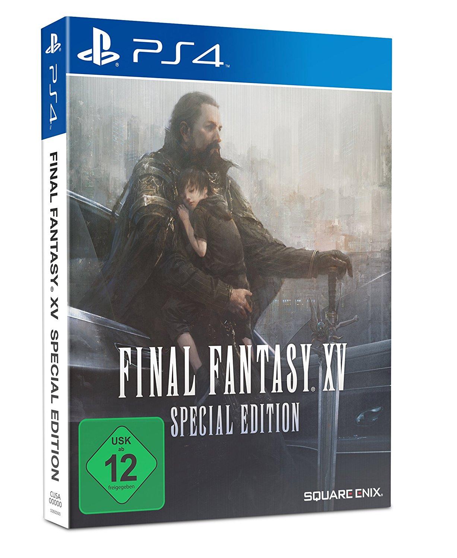 Final Fantasy XV Steelbook Edition (PS4) voor €13,26 @ Amazon.de