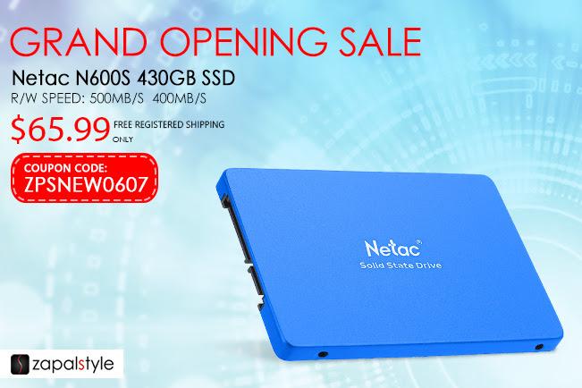 Netac N600S 430GB Zapalstyle (Zapals)