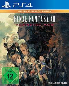 Final Fantasy XII The Zodiac Age - Limited Steelbook Edition (ps4)