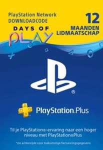 PlayStation Plus 12 maanden voor € 39,99 @GameMania