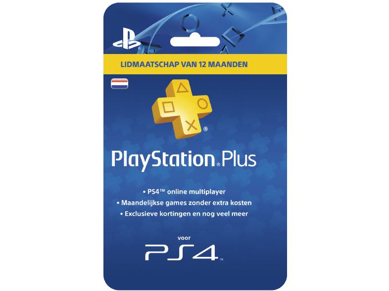 Playstation Plus (1 jaar) voor €36,99 na code