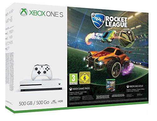 Xbox One S 500GB Console + Rocket League voor €169 @ Amazon.de