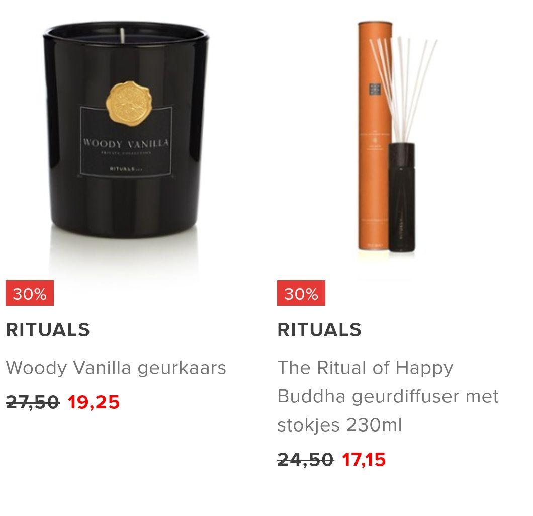 [UPDATE] NIEUWE ITEMS TOEGEVOEGD! Diverse Rituals producten 25%/30% bij Bijenkorf