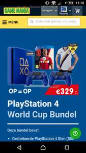 PlayStation 4World Cup Bundel