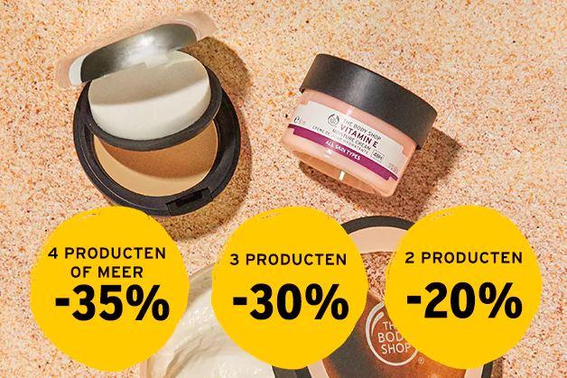 Dit weekend tot 35% korting (on- en offline) @ The Body Shop