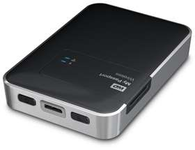 WD My Passport Wireless 1TB + Sandisk Ultra 64GB SD kaart voor €142,25 @ Amazon.de