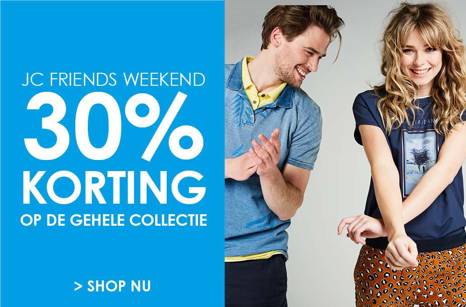 Dit weekend 30% korting op alles, ook sale @ Jeans Centre