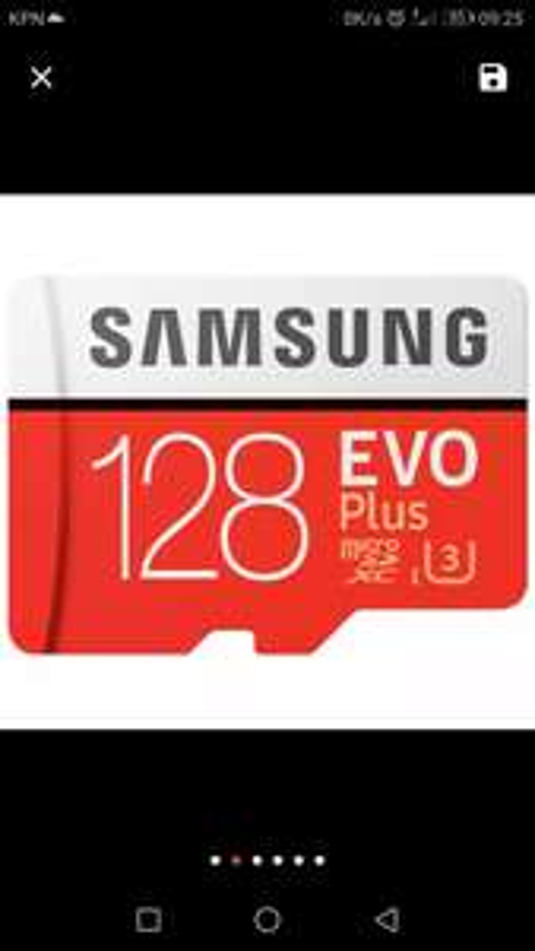 Samsung 128gb micro SD U3