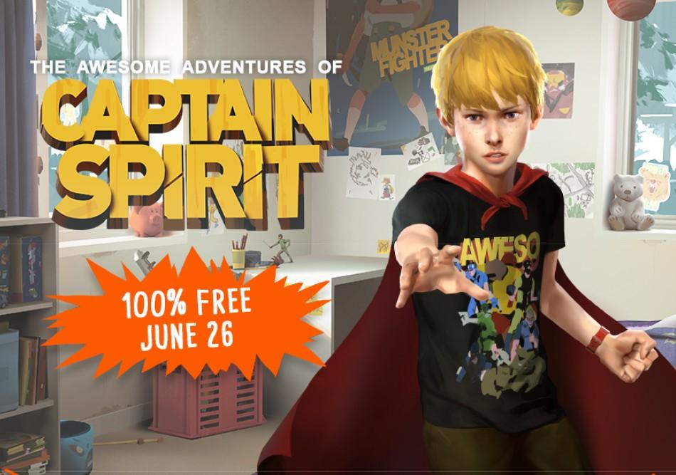 The Awesome Adventures of Captain Spirit vanaf 26 juni gratis voor Xbox One/PS4/PC