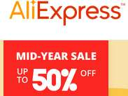 AliExpress vanaf do14jun : Een week sales. Tot extra 50% korting. vaderdag?