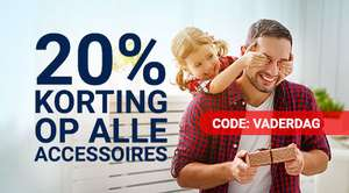 20% Vaderdag korting op alle accessoires @ Gsmpunt
