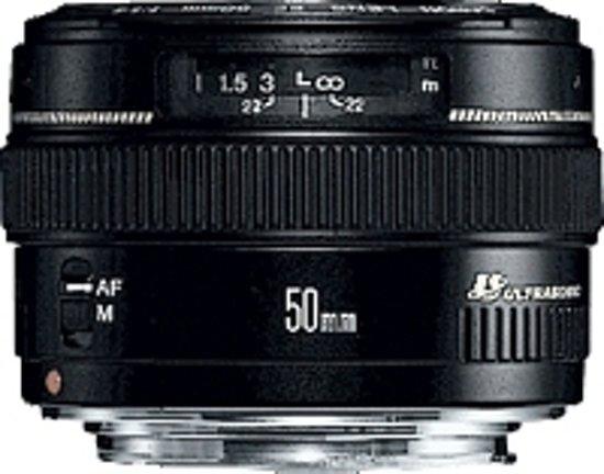 Canon EF 50mm f/1.4 USM SLR Standaardlens Zwart