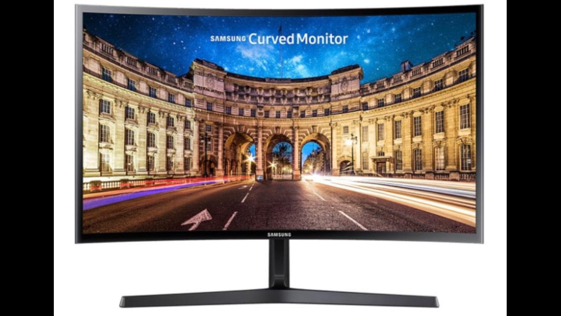 "Samsung C24F396FHU 24"" Full HD Zwart Gebogen computer monitor"