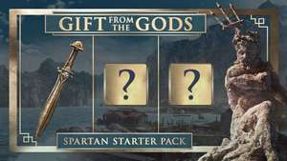 Gratis Spartan Starter Pack DLC voor Assassin's Creed: Odyssey PS4, Xbox One, en PC