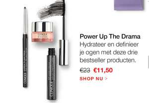 Clinique Power Up The Drama 3 delige set