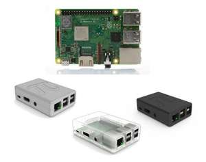 Raspberry Pi 3+ incl. case @ SOS Solutions