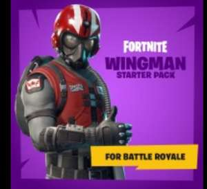 Fortnite Battle Royale - Wingman Starter Pack (incl 600 V-bucks) voor PS4, Switch en Xbox One