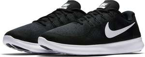 Nike Free Run 2017 Heren - Black/White maat 43 voor €32,99 @ Bol.com