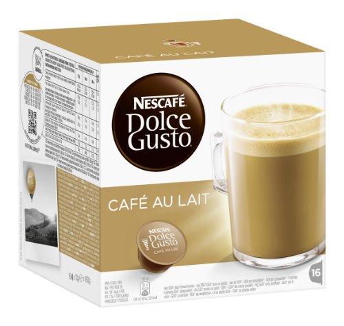 Dolce Gusto Cafe au Lait voor €3,48 per pak @ Amazon.de